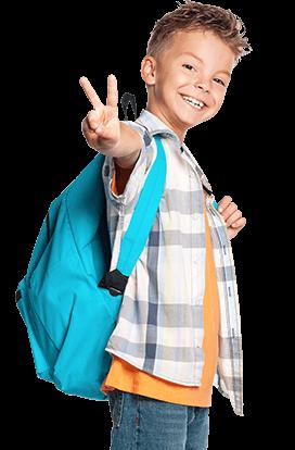 Martial Arts Hernando Taekwondo happy kid